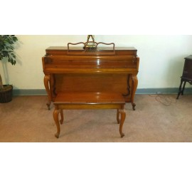1961 Gulbransen Company Makers Piano 37 in. tall, 57 in. wide, 23 in.deep