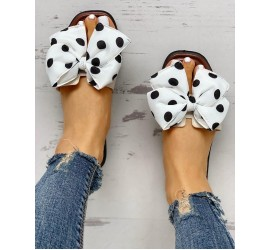 Bowknot  sign Open Toe Sandals